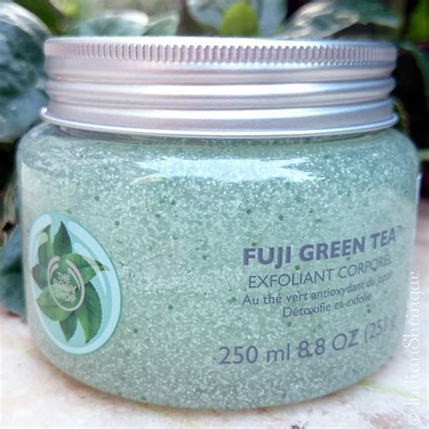 Parfum Fuji Green Tea Shop the shop fuji green tea scrub and butter