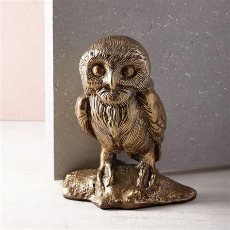 West Elm Owl L by Scandi Animal Doorstop Owl West Elm