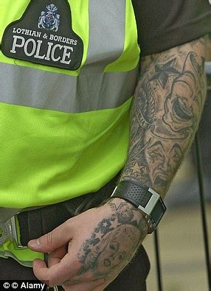 met police bans recruits with thuggish visible tattoos