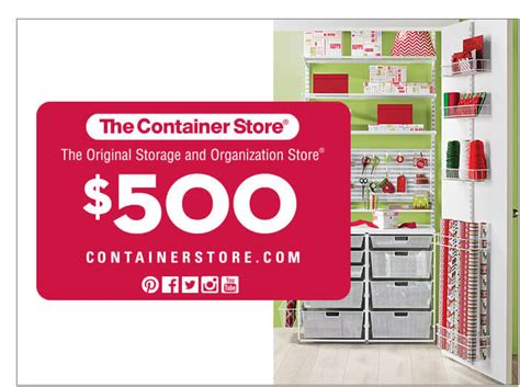 The Container Store Gift Card - ellen s 12 days of giveaways 2016 everything you need to know