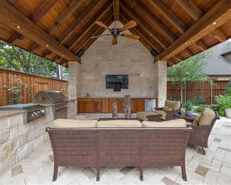 covered outdoor pavilion houzz