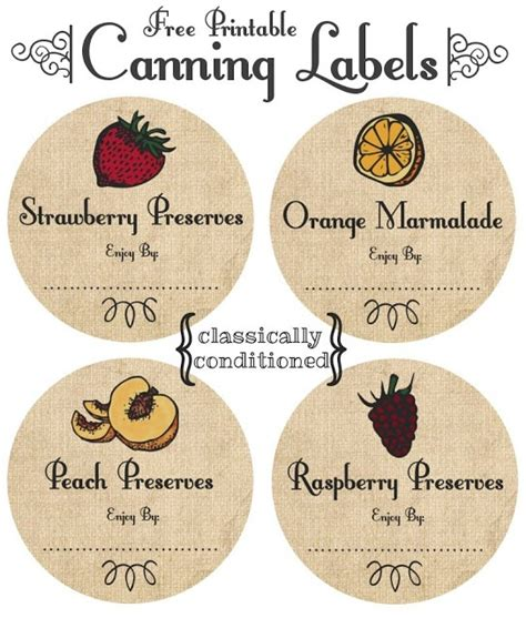 free printable ball jar labels 17 best images about canning on pinterest jars homemade