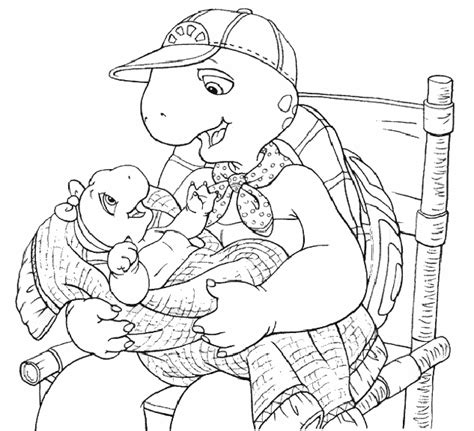pudgy bunny s franklin the turtle coloring pages