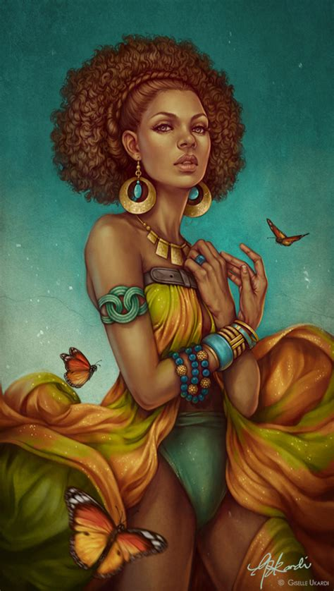 black woman portrait by florin chis on deviantart desert queen by giselleukardi on deviantart