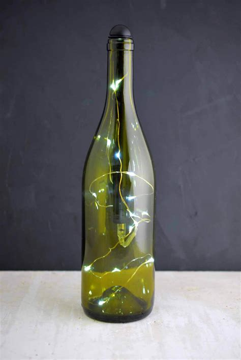 wine bottle battery operated lights light my bottle