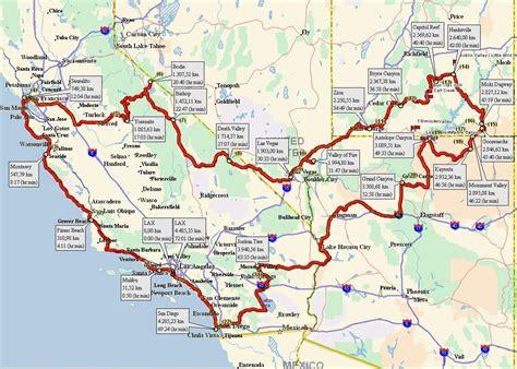 usa map in detail amerika westen karte goudenelftal