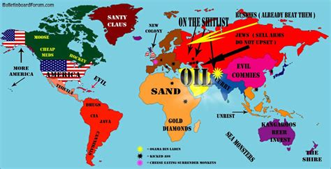 america map view national stereotypes how we see the different countries