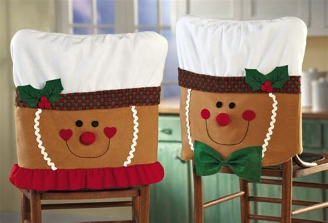 disney christmas chair back covers gingerbread dining room chair covers