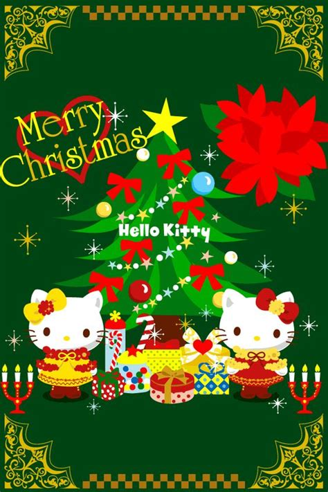 kitty themes for december sanrio hello kitty mimmy christmas card character