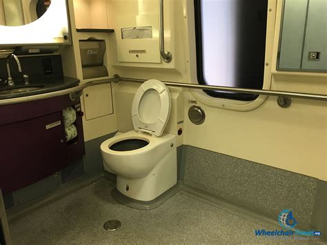 are there bathrooms on amtrak trains review amtrak acela express high speed train wheelchairtravel org
