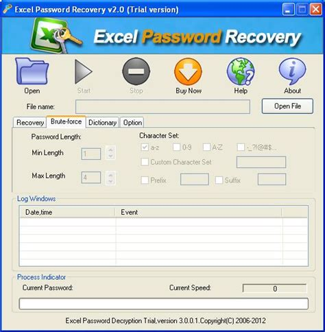 Excel Password Cracker Crack Free - filerock Free Excel Worksheet Password Cracker