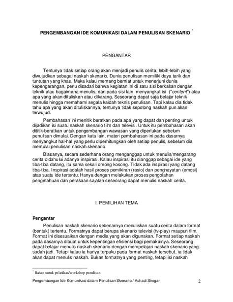 Sitti Nurbaya Oleh Mh Rusli 05 penulisan skenario