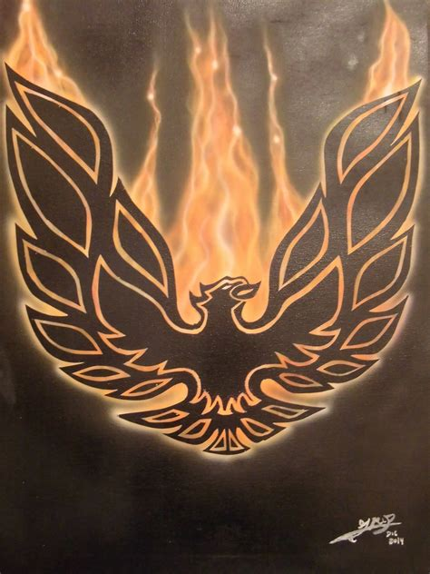 trans am firebird phoenix airbrush youtube