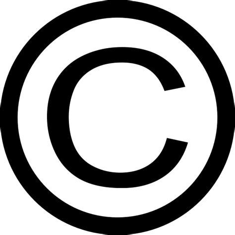 thin copyright symbol clip art at clker com vector clip art online royalty free public domain