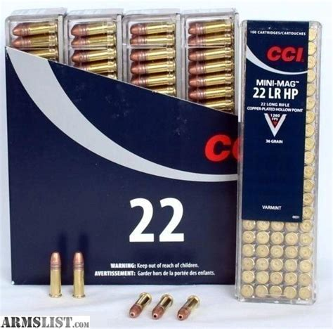 cci mini mag 22 lr copper plated hollow point armslist for sale sold and picked up cci mini mag 22
