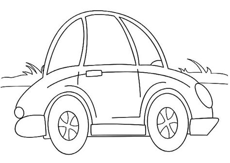 cartoon car coloring page cartoon beetle car coloring pages best place to color