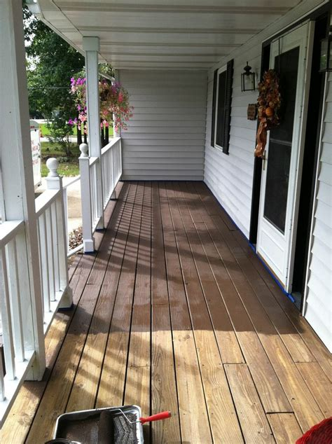 Behr Deck Concrete Patio by Behr Deck In Padre Brown Outdoor Stuff