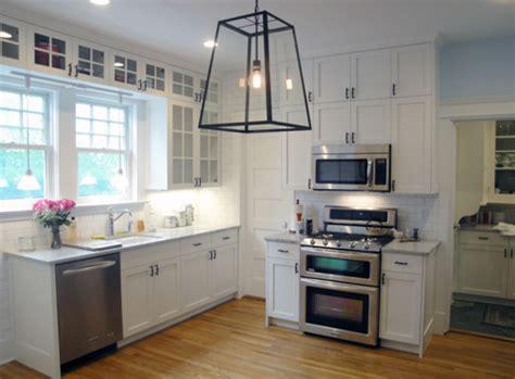 wall hung kitchen cabinets white frameless shaker style kitchen