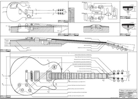 les paul guitar template free les paul style guitar templates instruments
