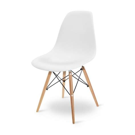 Charles Eames Dsw by Cadeira Eames Dsw Branca