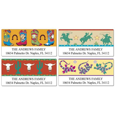 colorful images address labels colorful west deluxe return address labels colorful images