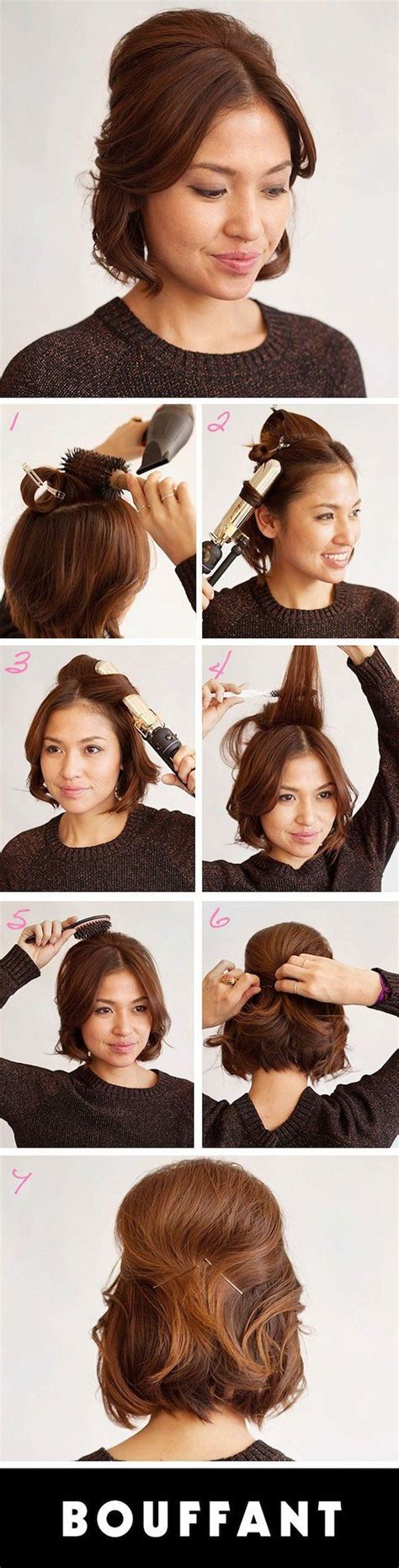 25 hairstyles with tutorials for 25 best ideas about bouffant tutorial on