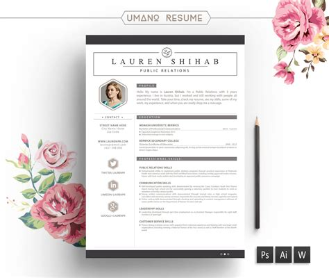 unique resume templates free word free creative resume templates word sle resume cover letter format