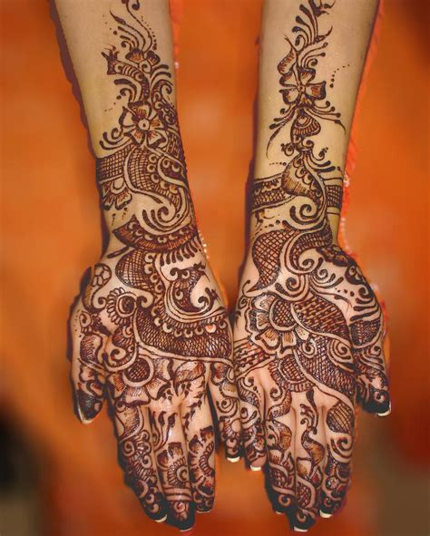 henna tattoo on hands pictures mehndi bridal desgins for brides dresses 2013 dulhan