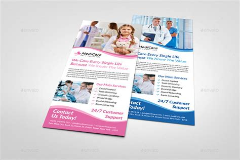 health care card template 25 rack card templates free psd ai eps vector format