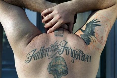 iraq tattoo telling tattoos veterans speaks for itself in