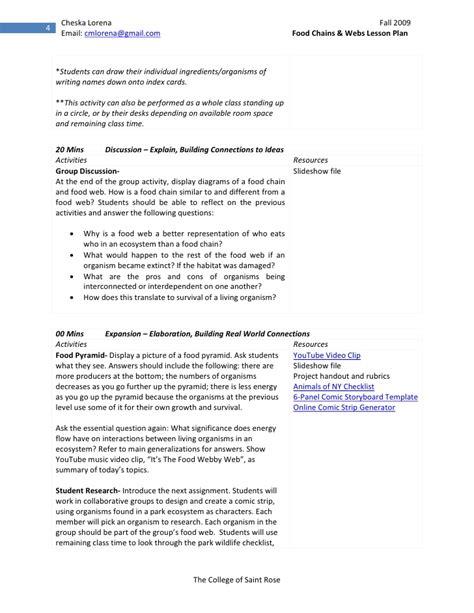 constructivist lesson plan template cl sle constructivist lesson plan