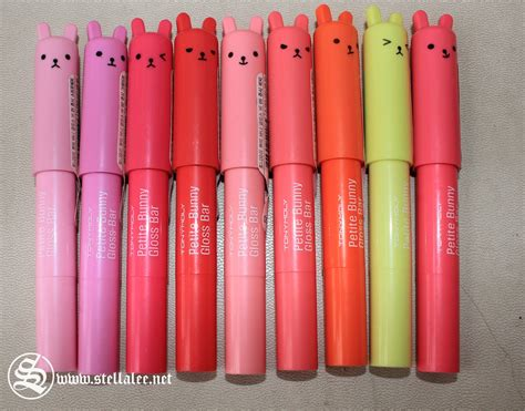 Harga Tony Moly Bunny Gloss Bar tony moly bunny gloss bar review stella