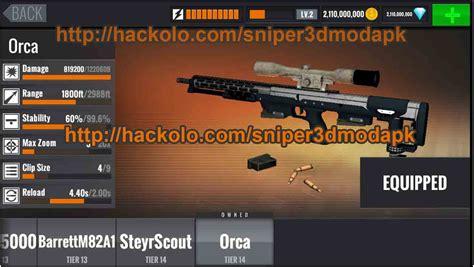 mod game of sniper 3d get sniper 3d assassin gun shooter apk mod unli coins