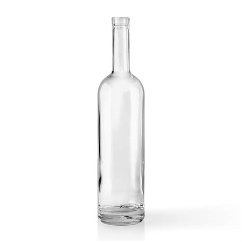 Glass Bottles 750 ml glass flint liquor bottle packaging options