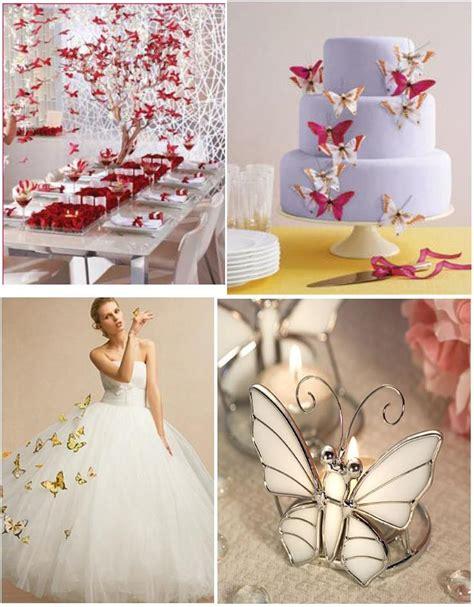 Butterfly Wedding Decorations by Butterfly Wedding Decoration Weddings On The Riviera Provence