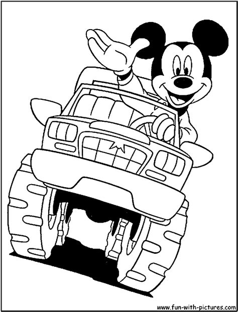 coloring pages cars and trucks for free monster truck coloring pages for kids 399457
