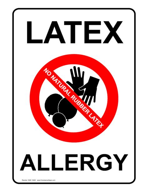 about latex allergies