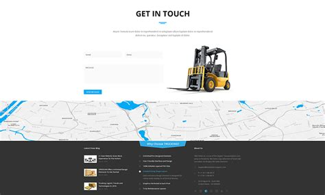 bootstrap themes transport transportation bootstrap template id 300111907 from