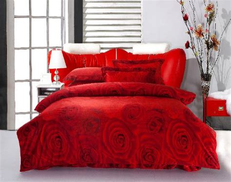 gorgeous bedding gorgeous red comforters for a beautiful bedroom
