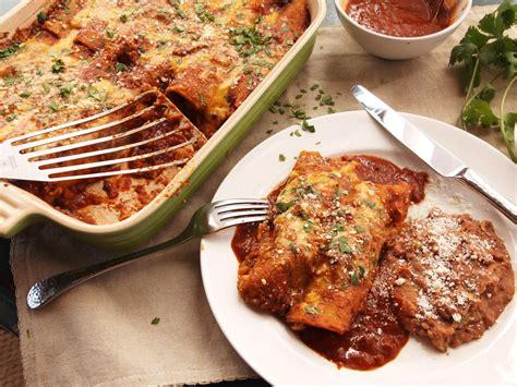 easy pressure cooker chicken enchiladas recipe serious eats