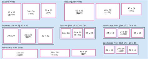 canvas layout sizes canvases easels best art supplies
