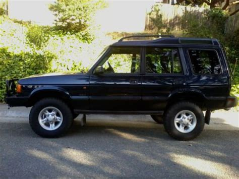 1997 land rover discovery road purchase used clean 1997 land rover discovery series i se