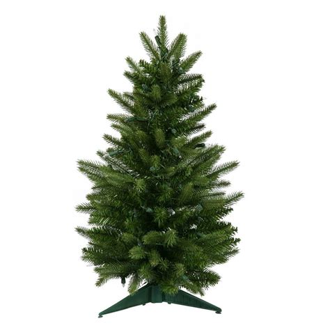 3ft real tree at lowes shop vickerman 3 ft frasier fir artificial tree at lowes