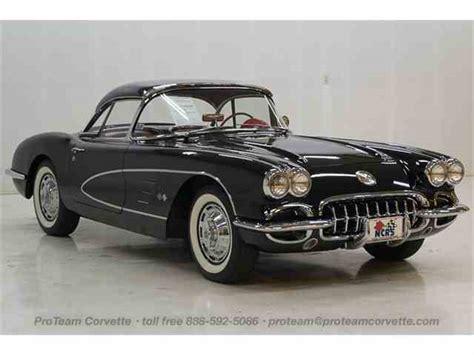 chevrolet corvette 1960 1960 chevrolet corvette for sale on classiccars 20