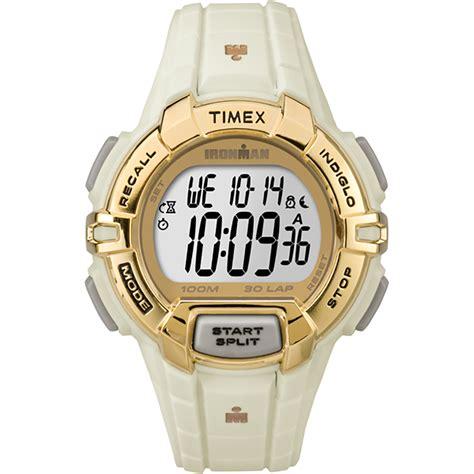 timex ironman 30 rugged saapni timex ironman 174 rugged 30 format standard gold white tw5m06200jv