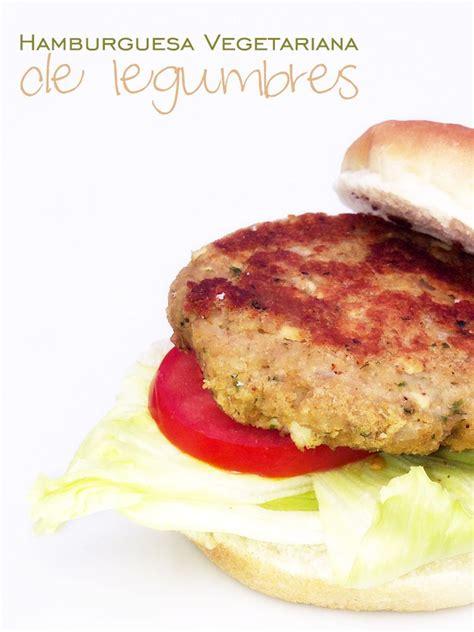 blog cocina vegetariana hamburguesa vegetariana de legumbres legumes vegetarian