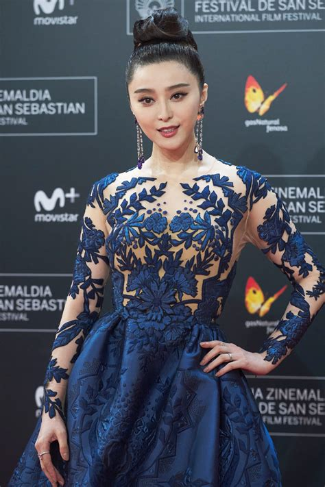 fan bingbing in zuhair murad couture at the quot la fille de