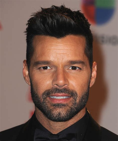 Ricky Martin Hairstyles in 2018