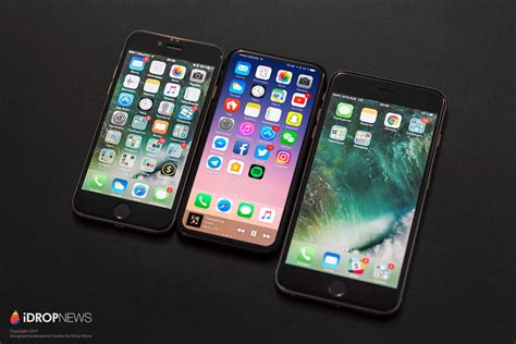 apple x japan iphone 8 の試作品設計図がリーク 極小ベゼルになった次期iphoneの予想レンダリング画像も gigazine