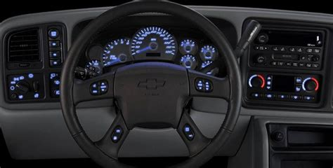 led dash diy kits     chevy silverado tahoe